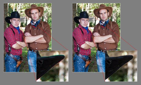 Отличный способ убрать хроматические аберрации в программе Фотошоп - №1