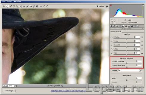 Отличный способ убрать хроматические аберрации в программе Фотошоп - №4