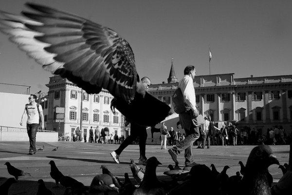 33 лучших примера черно-белых уличных фото - №4
