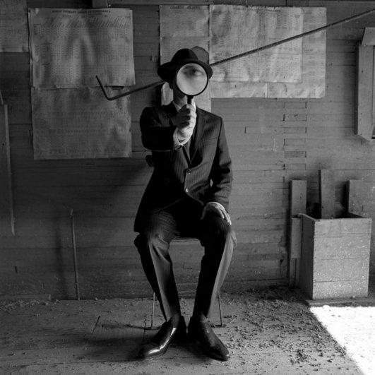 Изящная фото композиция, сюрреализм в черно-белой фотографии - №2