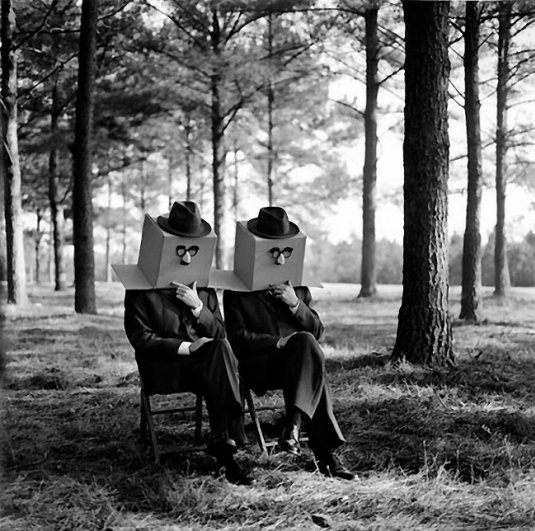 Изящная фото композиция, сюрреализм в черно-белой фотографии - №3