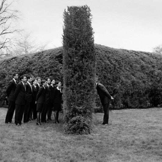 Изящная фото композиция, сюрреализм в черно-белой фотографии - №4