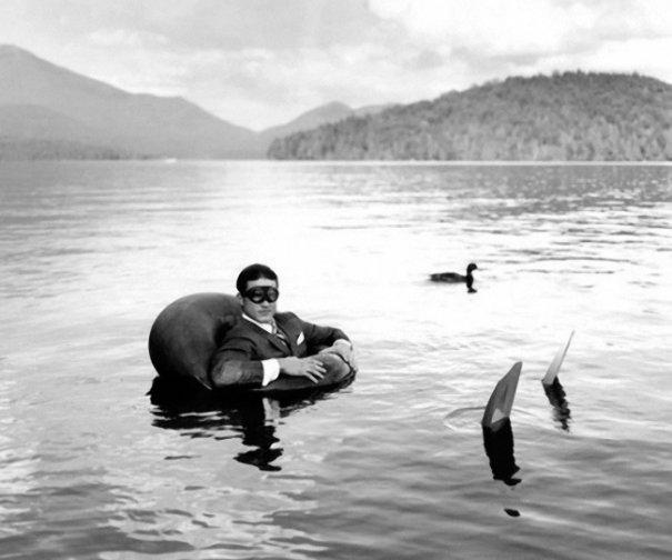 Изящная фото композиция, сюрреализм в черно-белой фотографии - №11