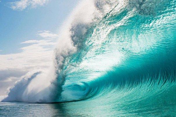 Шикарные морские волны, Гавайи - №6