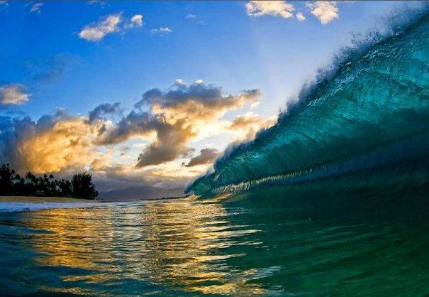 Шикарные морские волны, Гавайи - №8