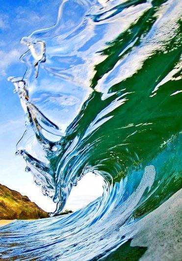морские волны фото