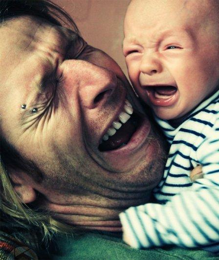 Отцы и дети. Трогательная подборка хороших эмоций - №4