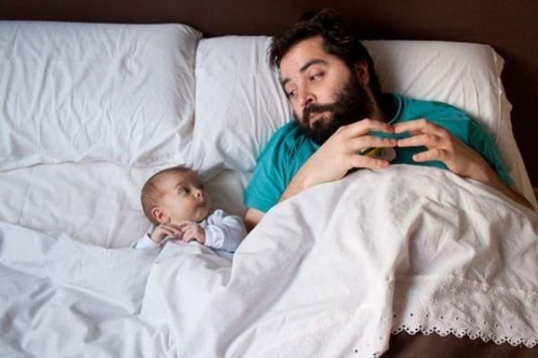 Отцы и дети. Трогательная подборка хороших эмоций - №8