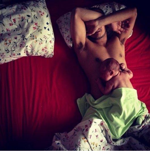 Отцы и дети. Трогательная подборка хороших эмоций - №11