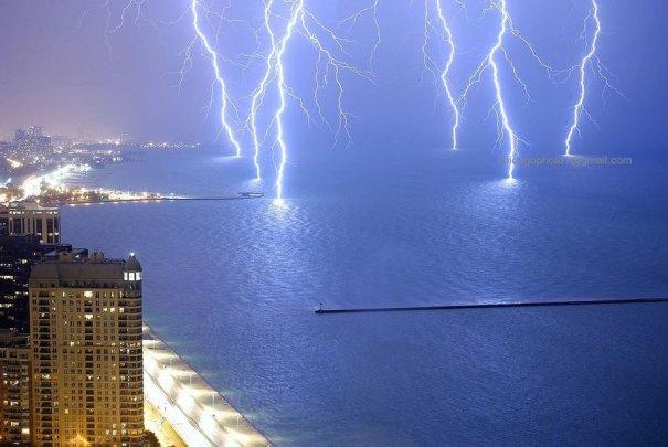 Фотографии молний (ChicagoPhoto1)