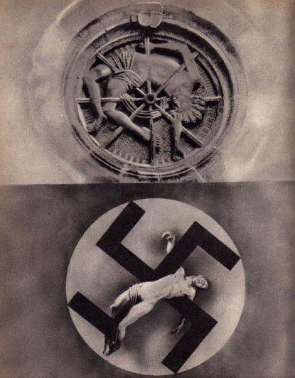 this day in history - Джон Хартфилд - мастер фотомонтажа - №9