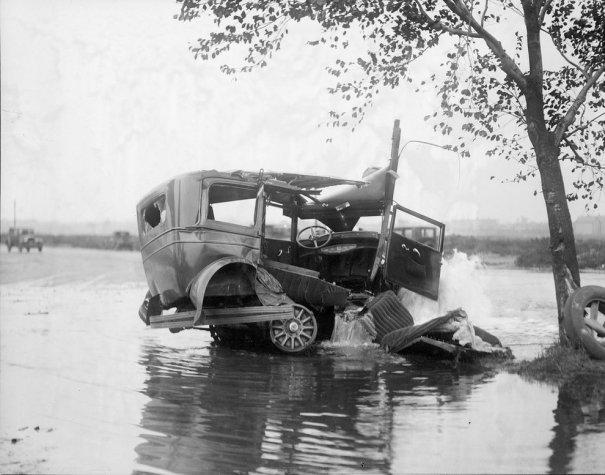 авто после аварии