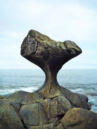 Захватывающий вид живописных больших скал - №8