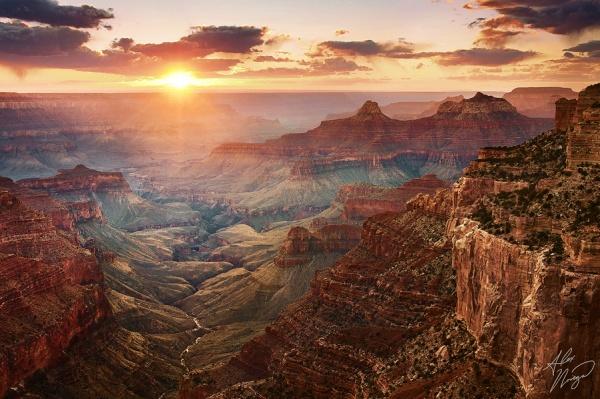 Захватывающий вид живописных больших скал - №12