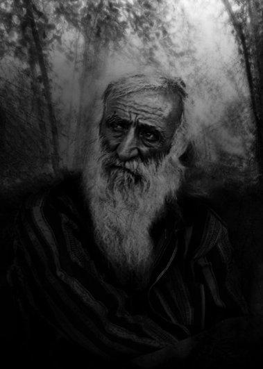 Черно-белые фото: психологические портреты. Фотограф Аркадий Коробка - №4