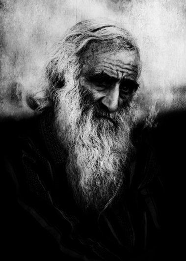 Черно-белые фото: психологические портреты. Фотограф Аркадий Коробка - №7