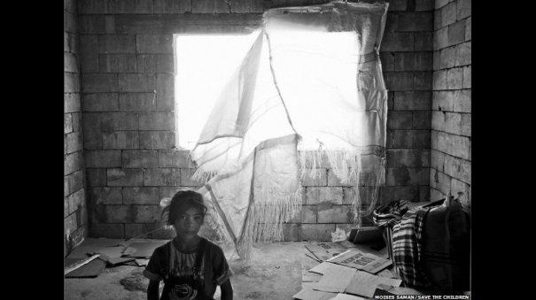 Новости в фотографиях - Сирийские беженцы в Ливане - №2