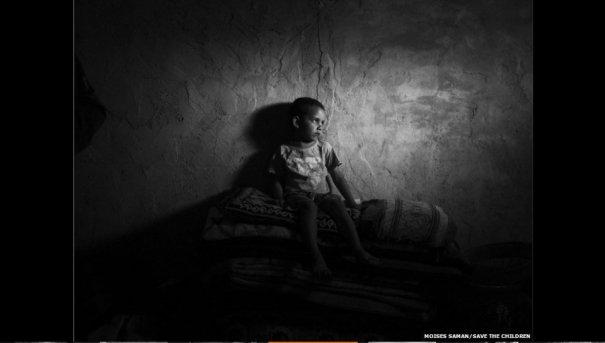 Новости в фотографиях - Сирийские беженцы в Ливане - №3