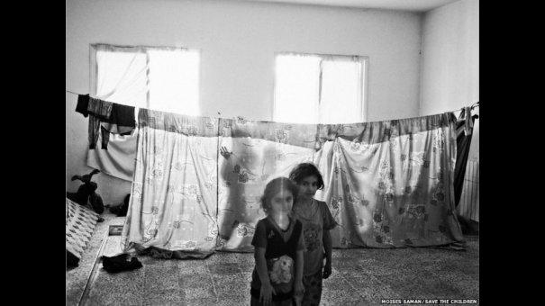 Новости в фотографиях - Сирийские беженцы в Ливане - №4