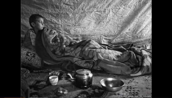 Новости в фотографиях - Сирийские беженцы в Ливане - №6