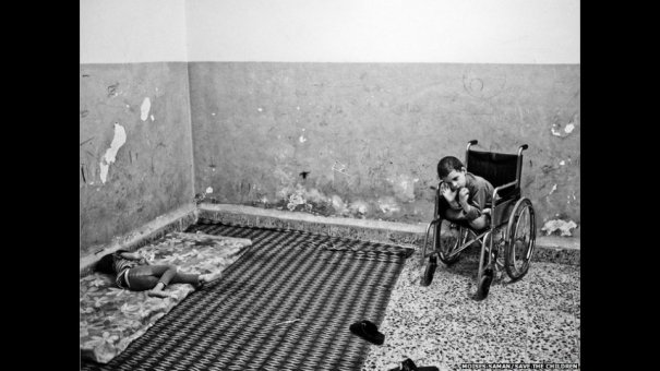 Новости в фотографиях - Сирийские беженцы в Ливане - №7