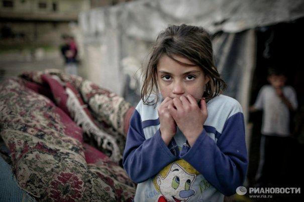 Новости в фотографиях - Сирийские беженцы в Ливане - №8