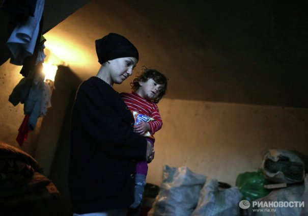 Новости в фотографиях - Сирийские беженцы в Ливане - №9