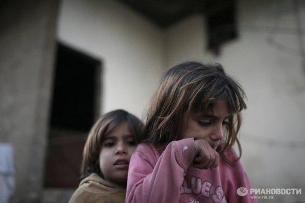 Новости в фотографиях - Сирийские беженцы в Ливане - №10