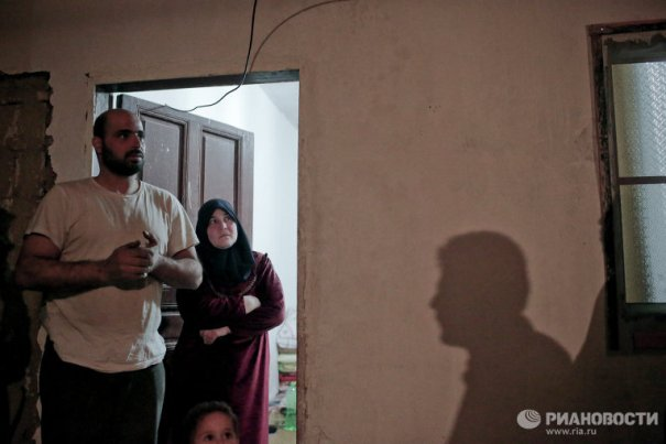Новости в фотографиях - Сирийские беженцы в Ливане - №11