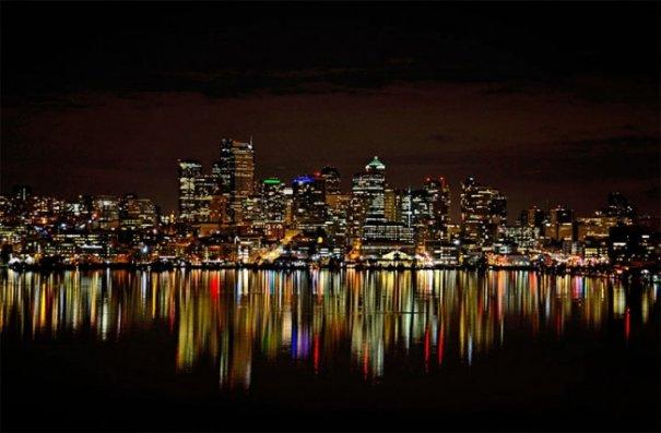 Естественная симметрия - лучшие зеркальные отображения города в воде - №10