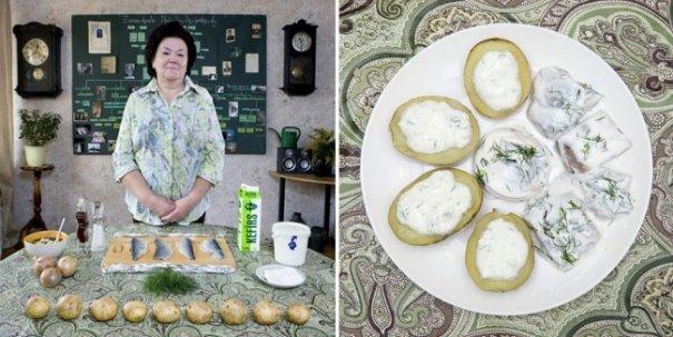 Чем кормят лучшие бабушки разных стран своих внуков - №11