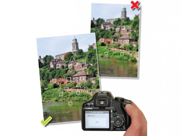 Урок фотографии. Как пользоваться различными точками фокусировки - №1