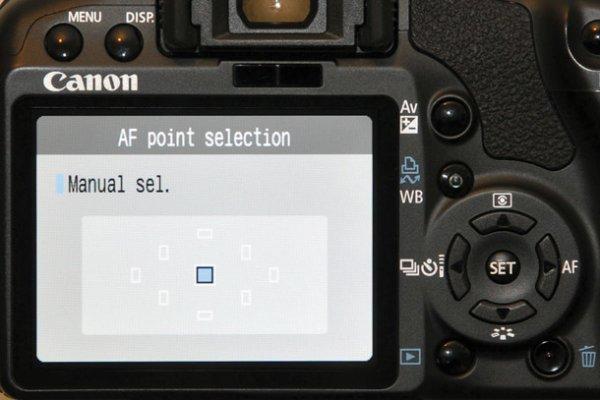 Урок фотографии. Как пользоваться различными точками фокусировки - №3
