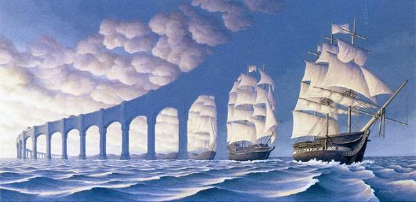 оптические иллюзии фото