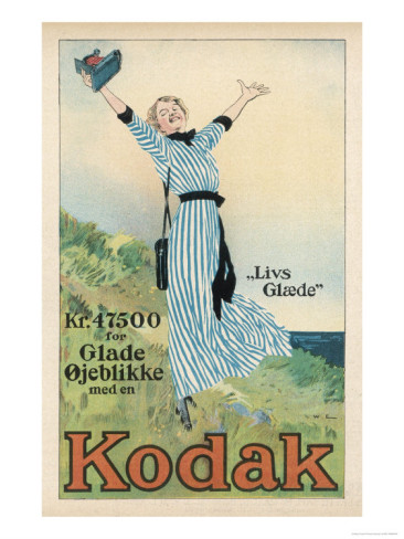 Advertising art - Kodak - №1