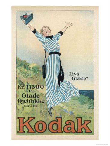 Advertising art - Kodak - №1
