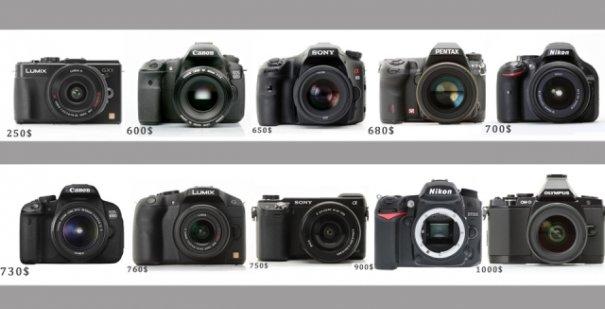 Обзор цифровых камер стоимостью до 1000$ - №1