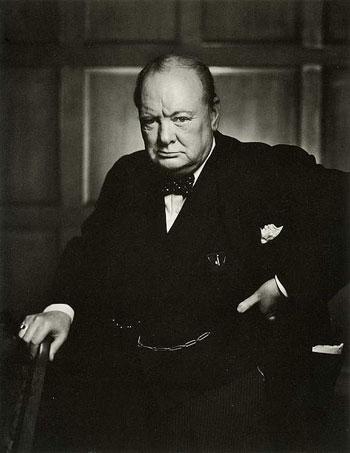 История одной фотографии - гнев Черчилля - №1