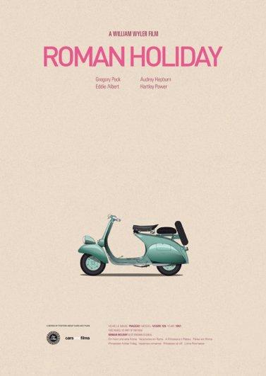 Римские каникулы, 1953