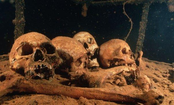 Подводное кладбище кораблей - №1