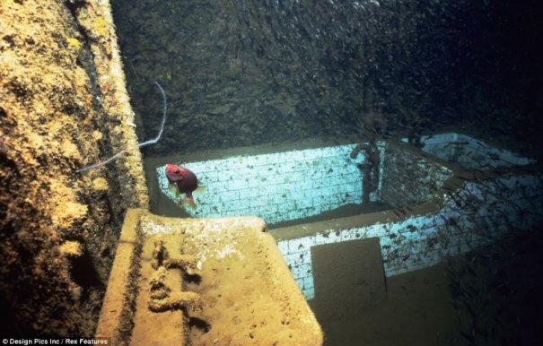 Подводное кладбище кораблей - №2