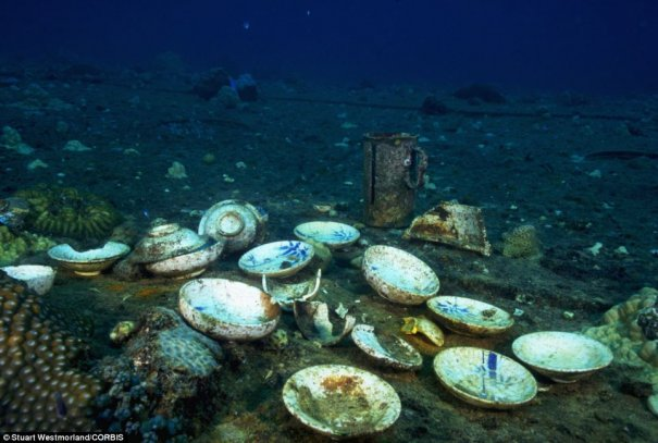 Подводное кладбище кораблей - №3