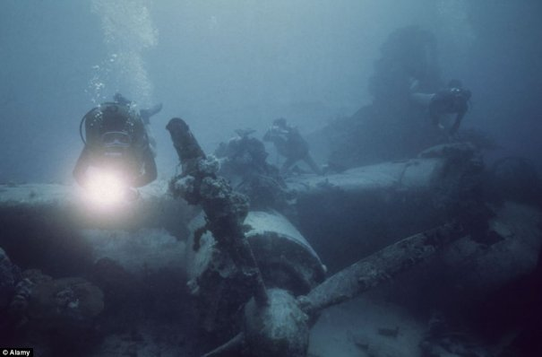 Подводное кладбище кораблей - №7
