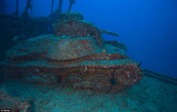 Подводное кладбище кораблей - №11