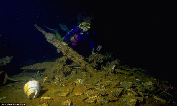 Подводное кладбище кораблей - №14