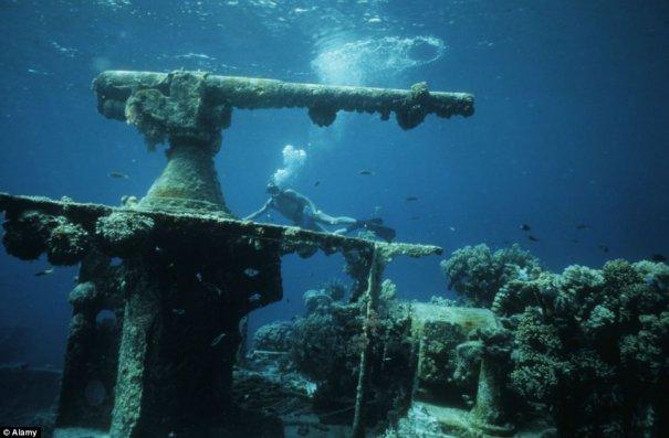 Подводное кладбище кораблей - №15