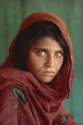История одной фотографии - Афганская Джоконда - №1