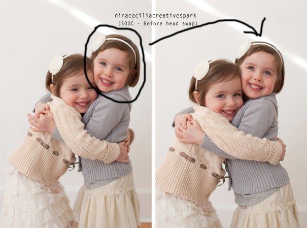 Фотомонтаж лица: как заменить неудачную гримасу красивой улыбкой - №1