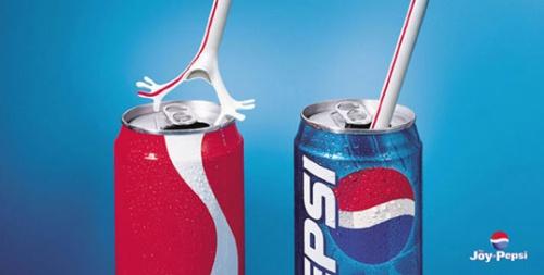 Рекламные фото креативной войны брендов - №12