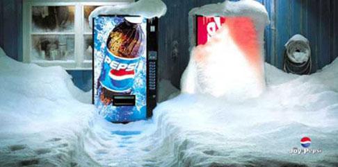 Рекламные фото креативной войны брендов - №14